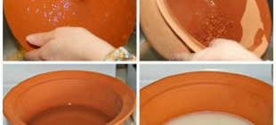 How to care for clay pots