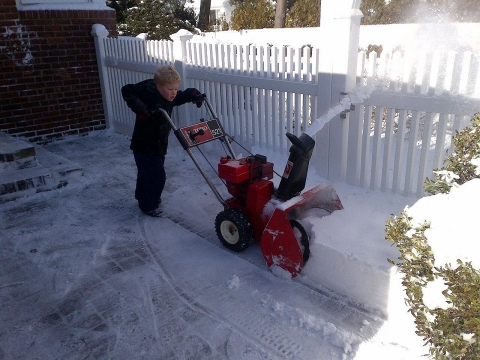 Is It Safe for Children to Use Snow Blowers? Picture