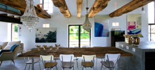 Décor update: infusing modern rustic style into your living space