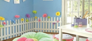 Fun ideas to decorate your girl's playroom